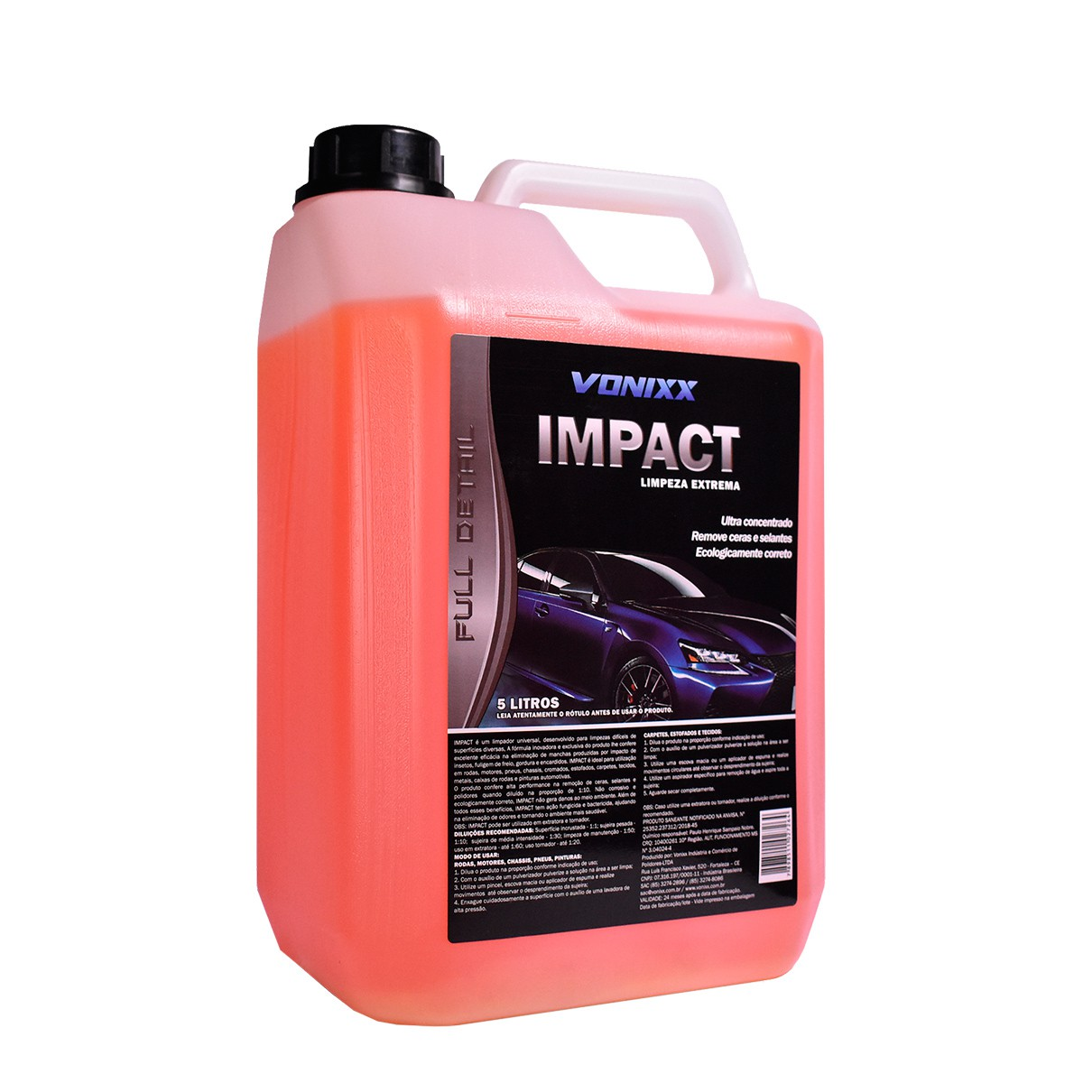 Impact 5 Litros ( Multilimpador para limpeza pesada) - Vonixx