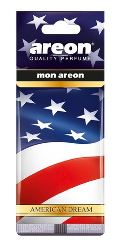 Kit 5 Aromatizante Para Carros Areon American Dream