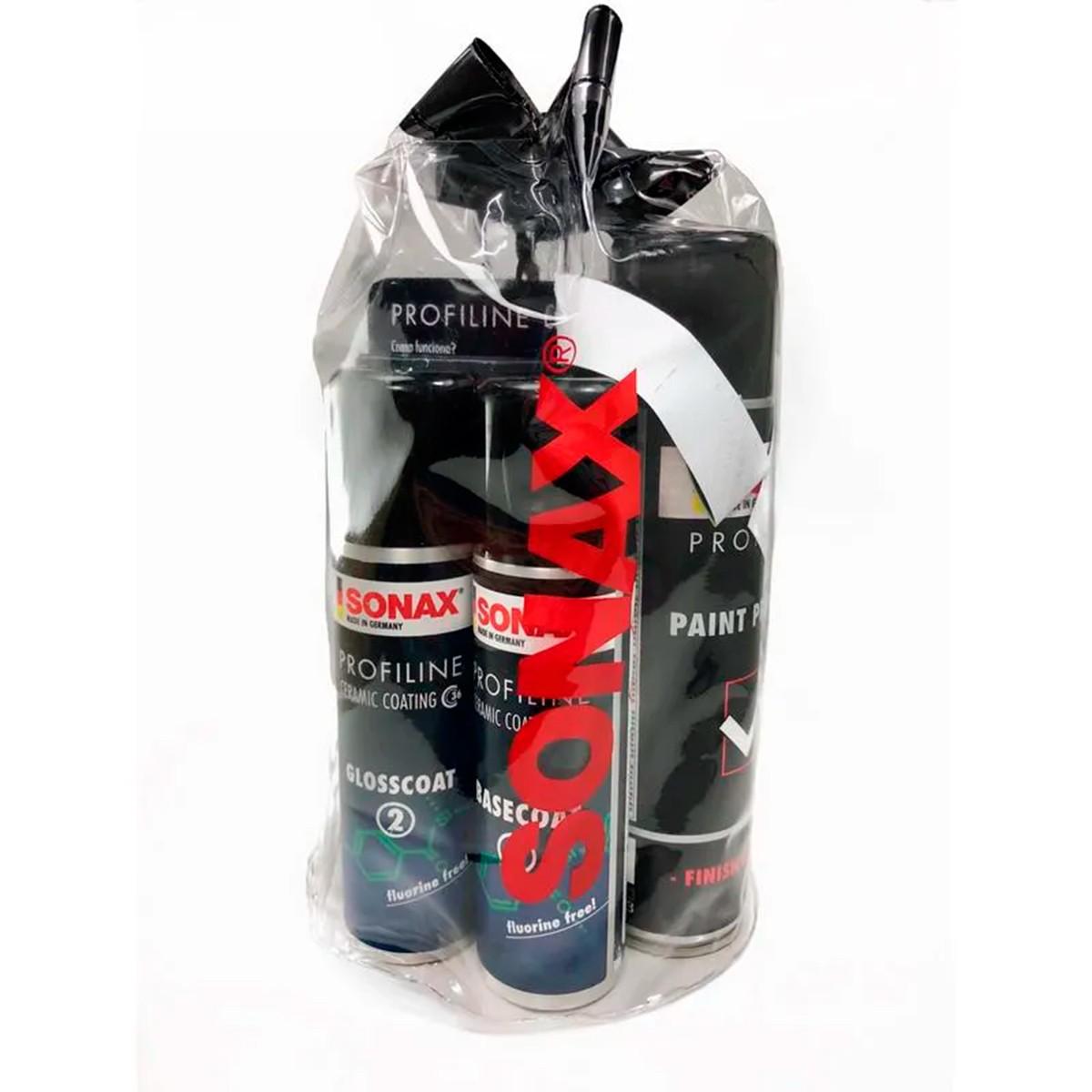 Kit Ceramic Coating CC36 Embalagem Econômica - Sonax