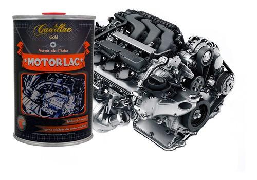 Kit Motorlac Verniz De Motor Cadillac 1l + 4 Aplicadores de Cera