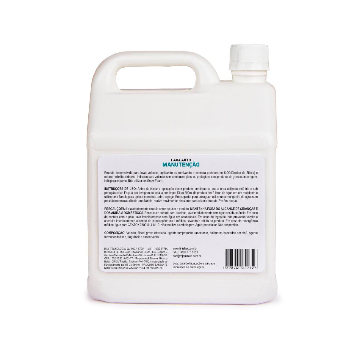 Lava Auto Manutenção 2,5 L - Finisher