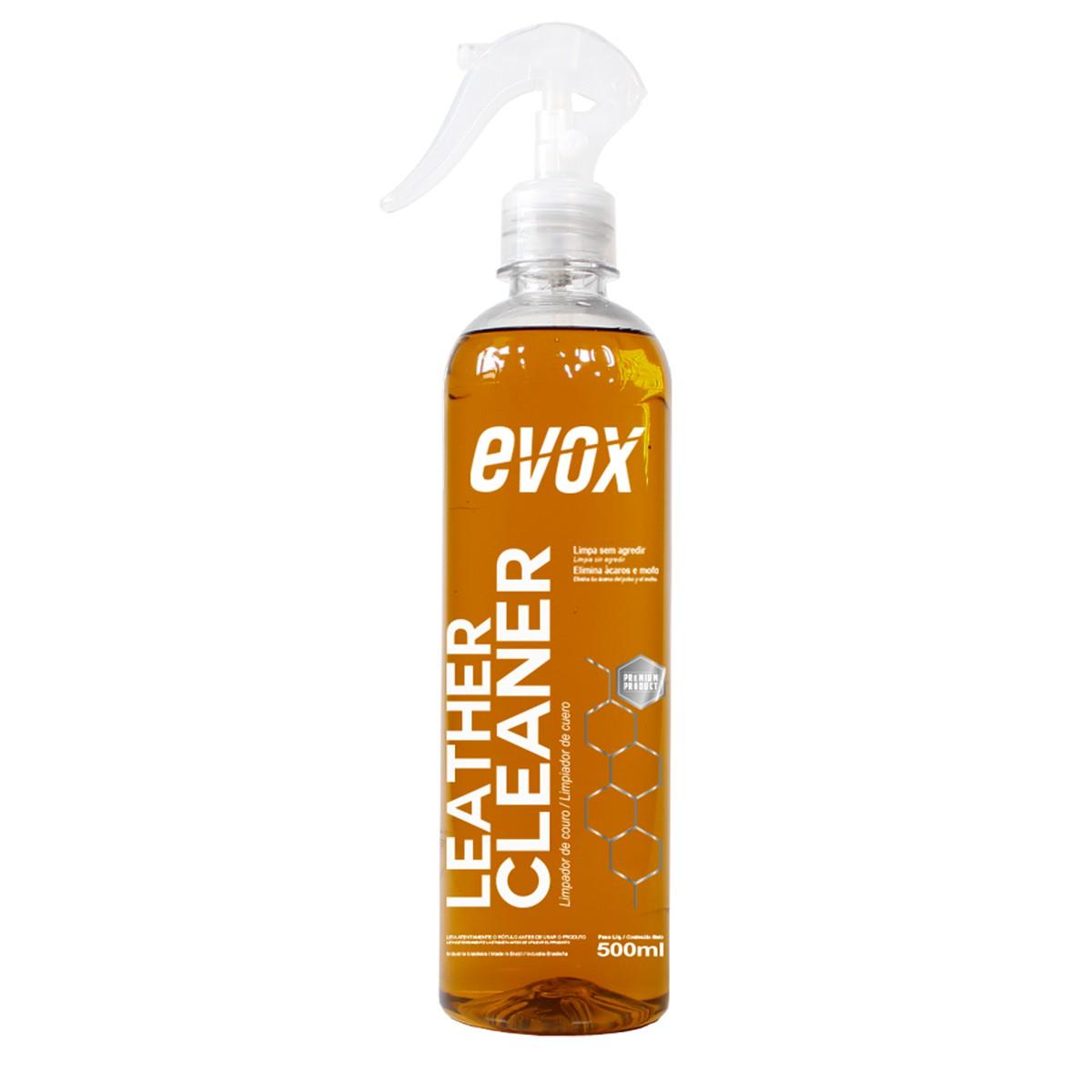 Leather Cleaner 500ml ( Limpador de Couro ) - Evox