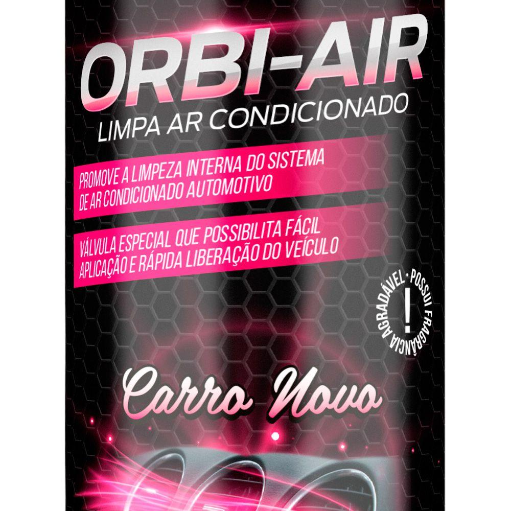 Limpa Ar Condicionado Cheiro Carro Novo - Orbi Air