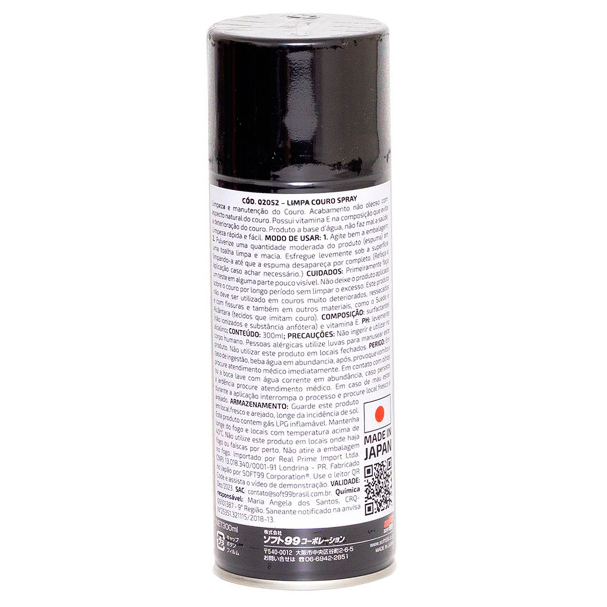 Limpa Couro Leather 300ml - Soft99