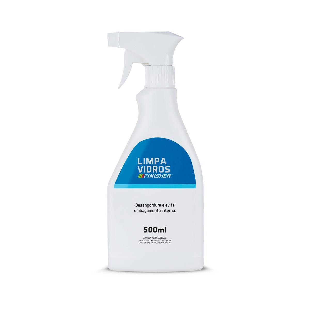 Limpa Vidros 500ml Spray - Finisher