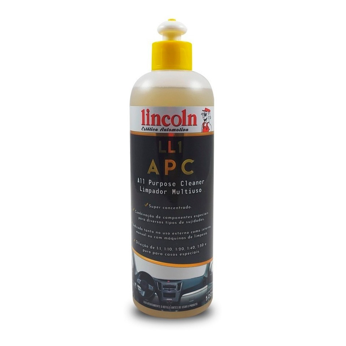 LL1 APC 500ml Limpador Multiuso - Lincoln