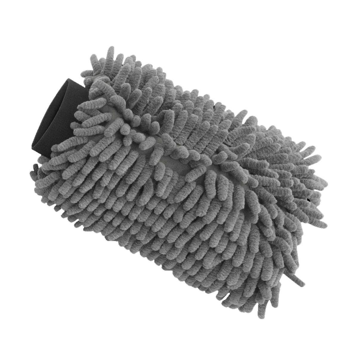 Luva de Microfibra Chenille - Mandala