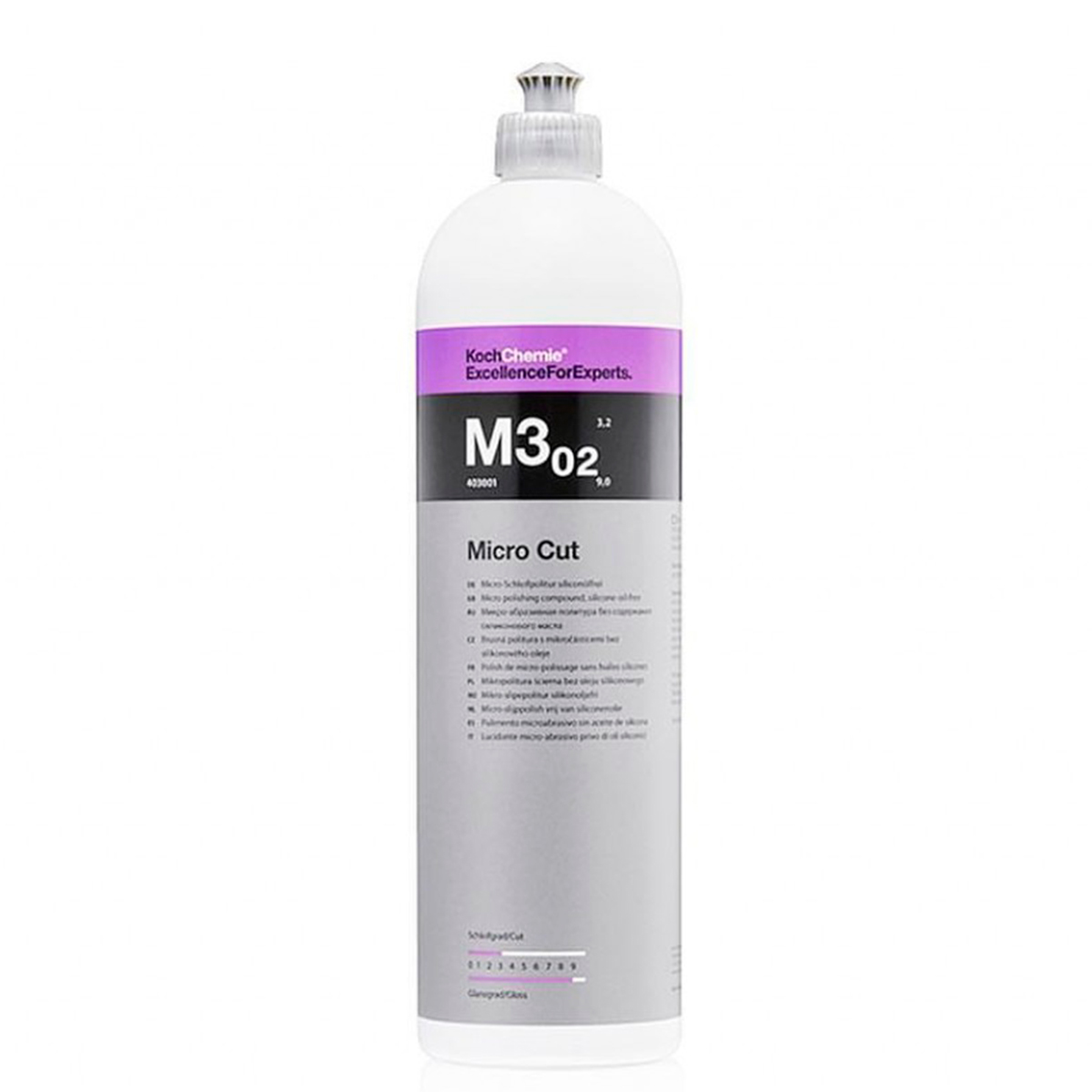 M3 02 Micro Cut Lustro e Alto Brilho 1L - Koch Chemie