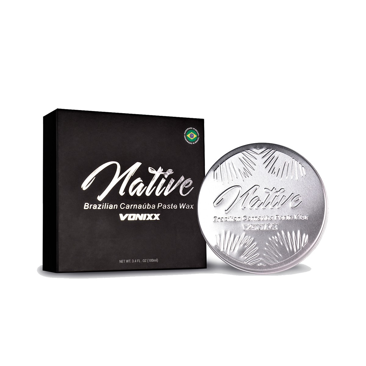Native Paste Wax 235ml - Vonixx