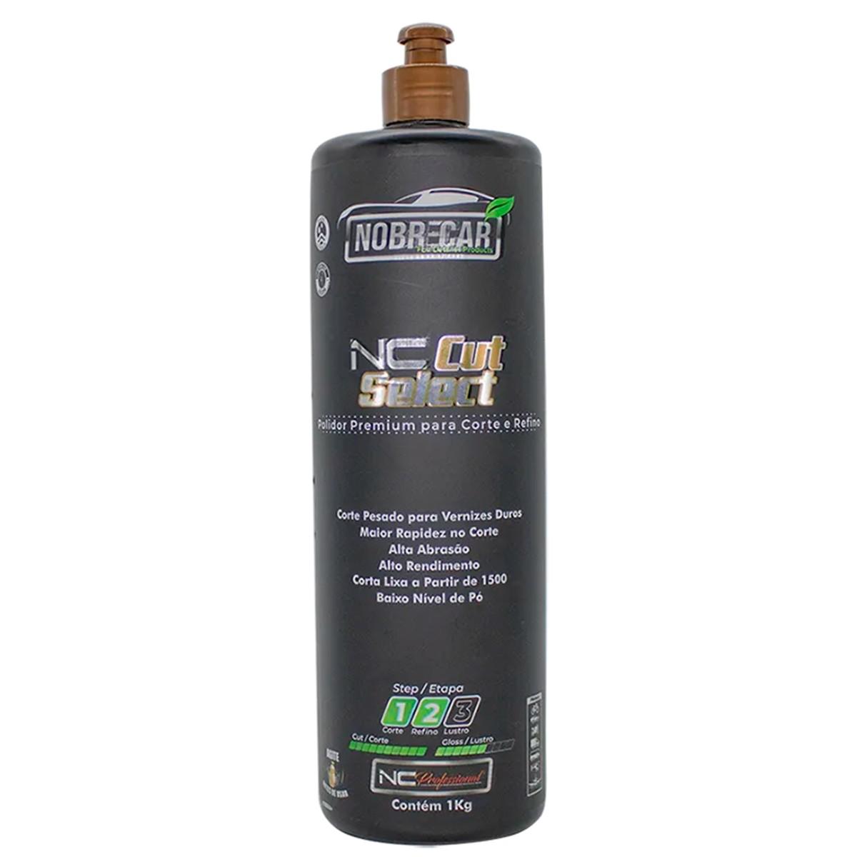 NC Cut Select 1e 2 ( Polidor Premium para corte e Refino) 1Kg - Nobrecar