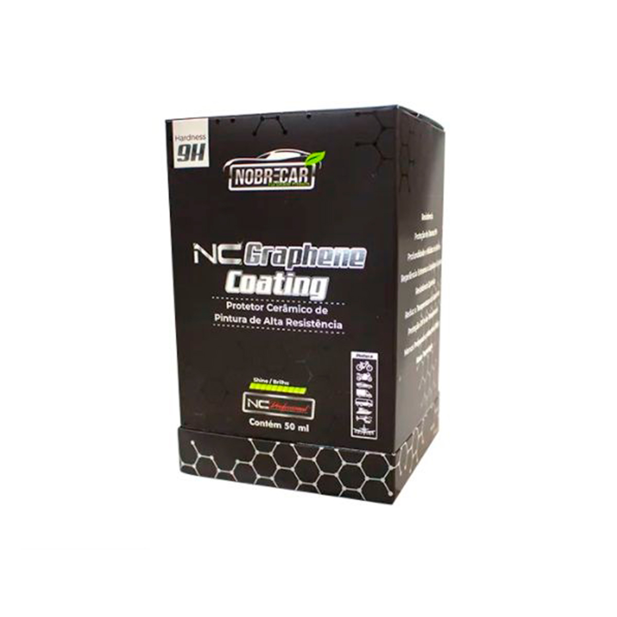 NC Graphene Coating 9H Protetor Cerâmico 50ml - Nobrecar