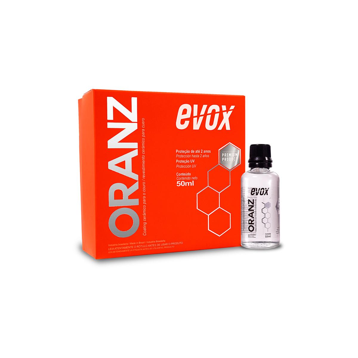 Oranz Ceramic Coating Para Couro 50ml - Evox
