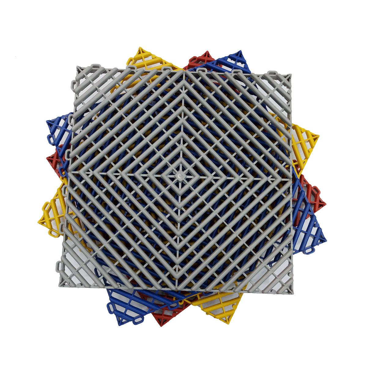 Piso Modular 30x30 Vermelho (Unidade) - Detailer