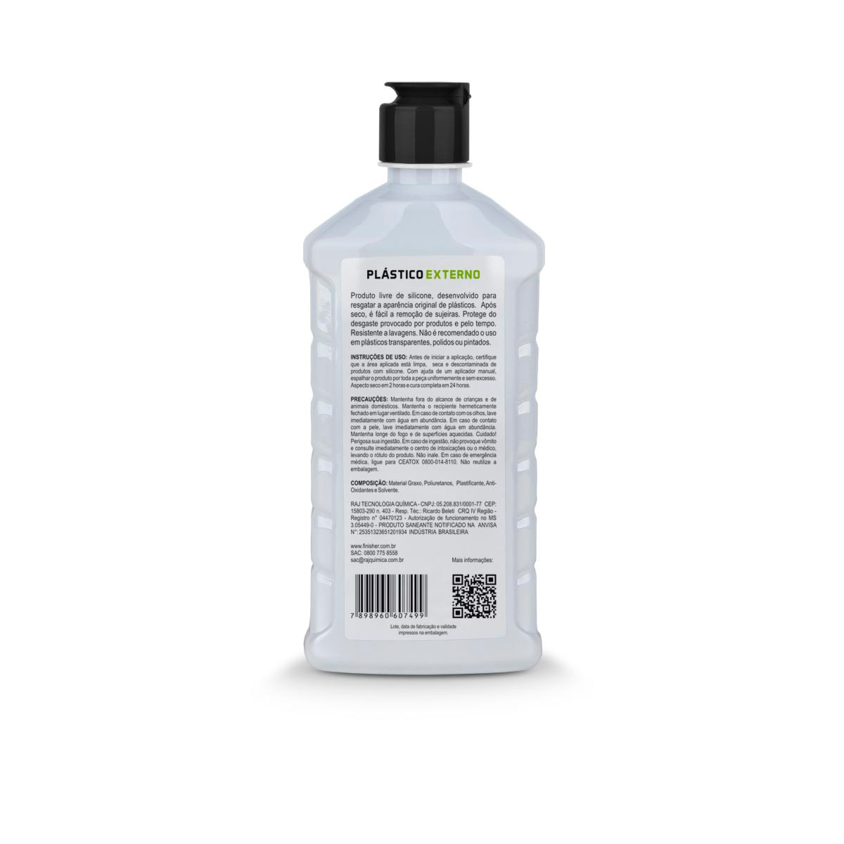 Plasticos Externos 500ml - Finisher