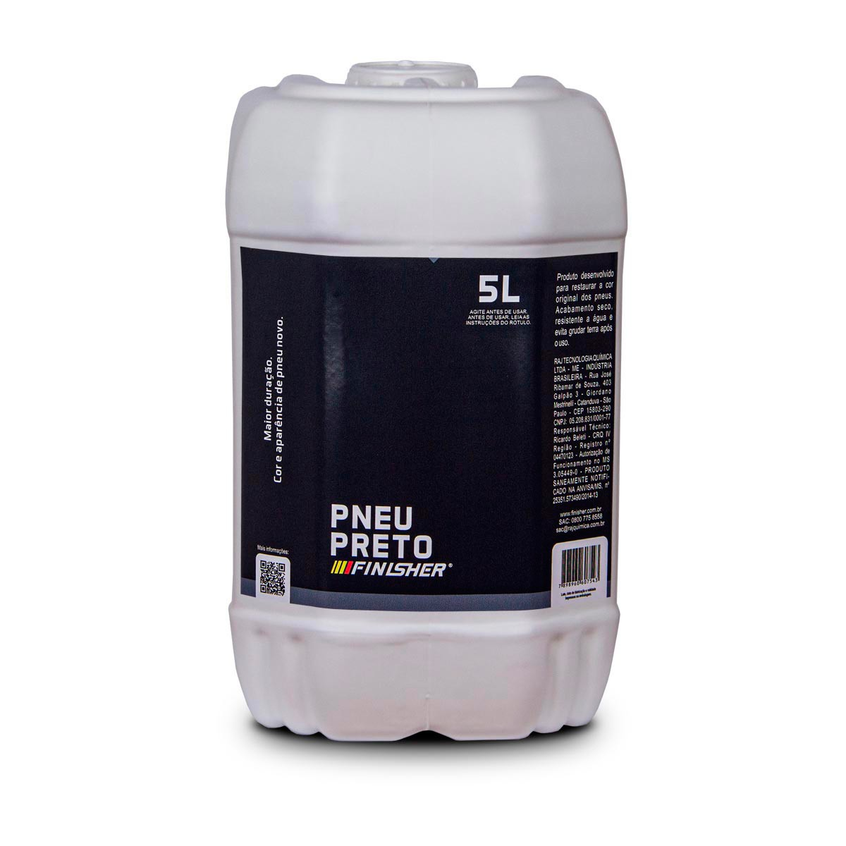Pneu Preto 5L - Finisher