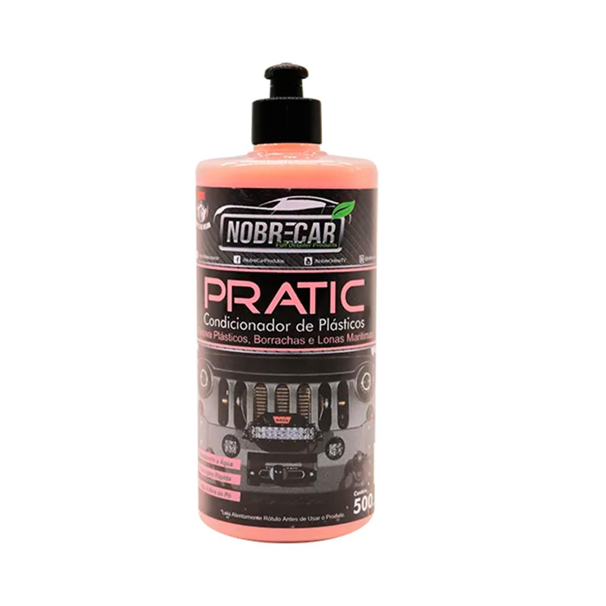 Pratic ( Condicionador de Plásticos Pratic)  500mL - Nobrecar