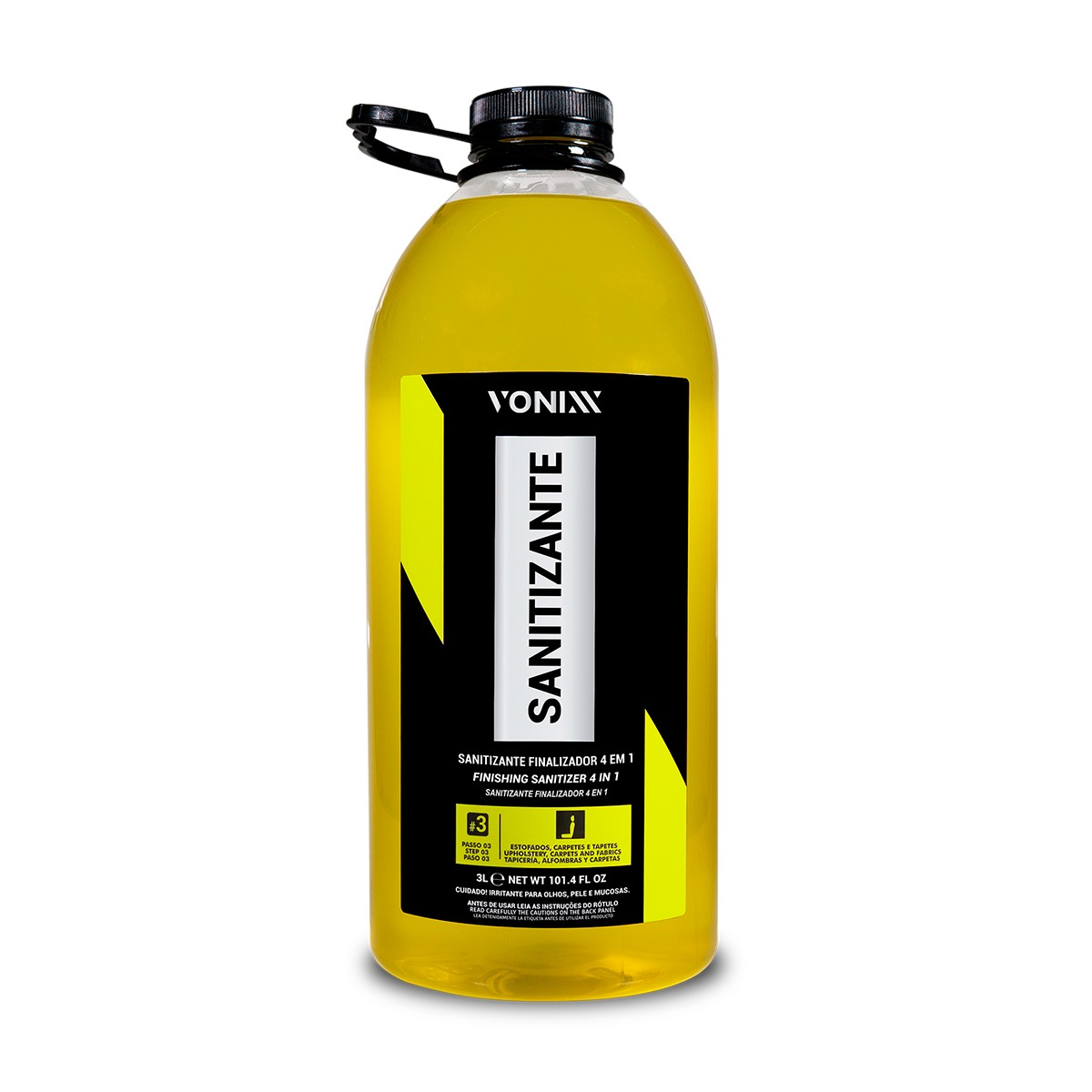 Sanitizante Finalizador 4 em 1 3L - Vonixx