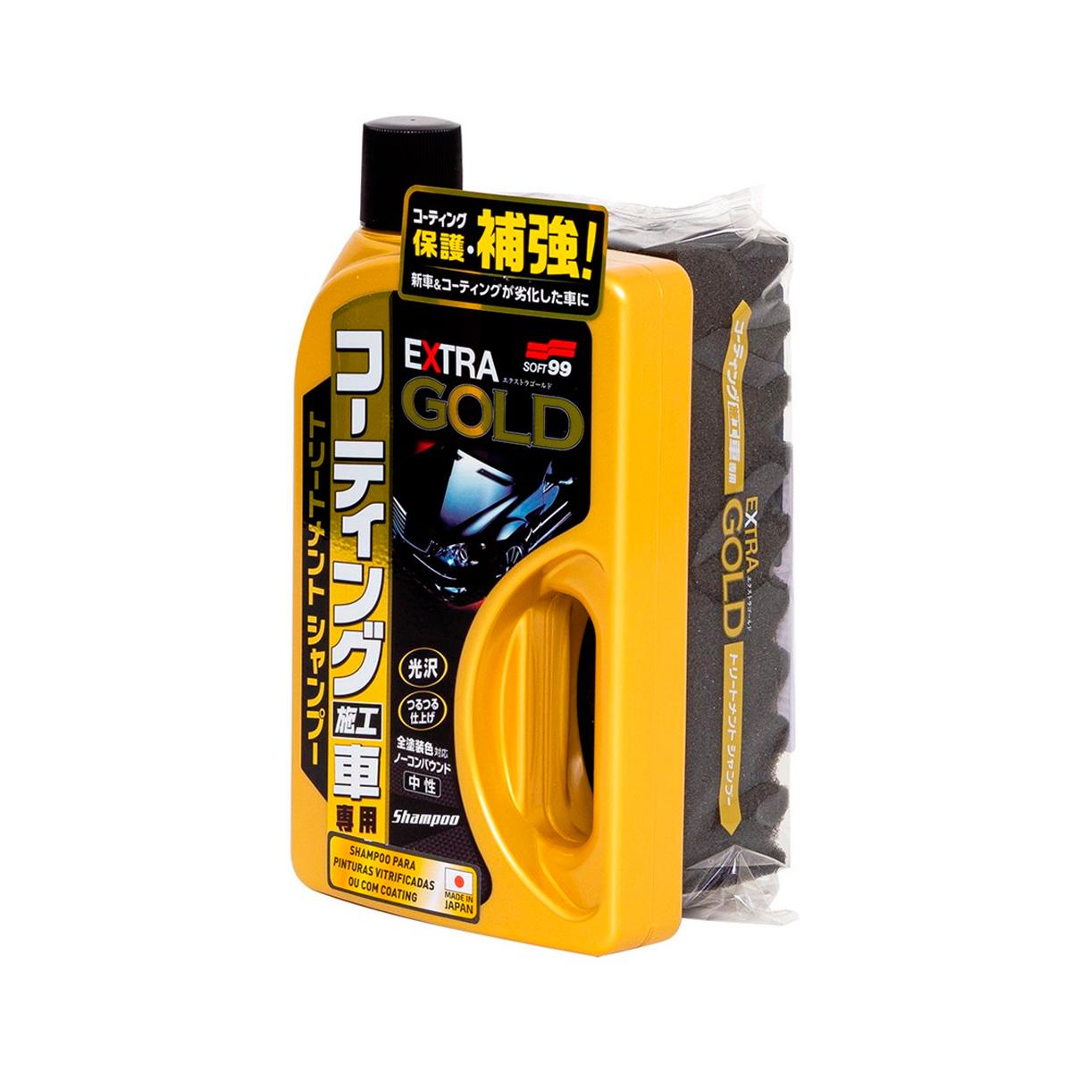 Shampoo Extra Gold 750ml - Soft99