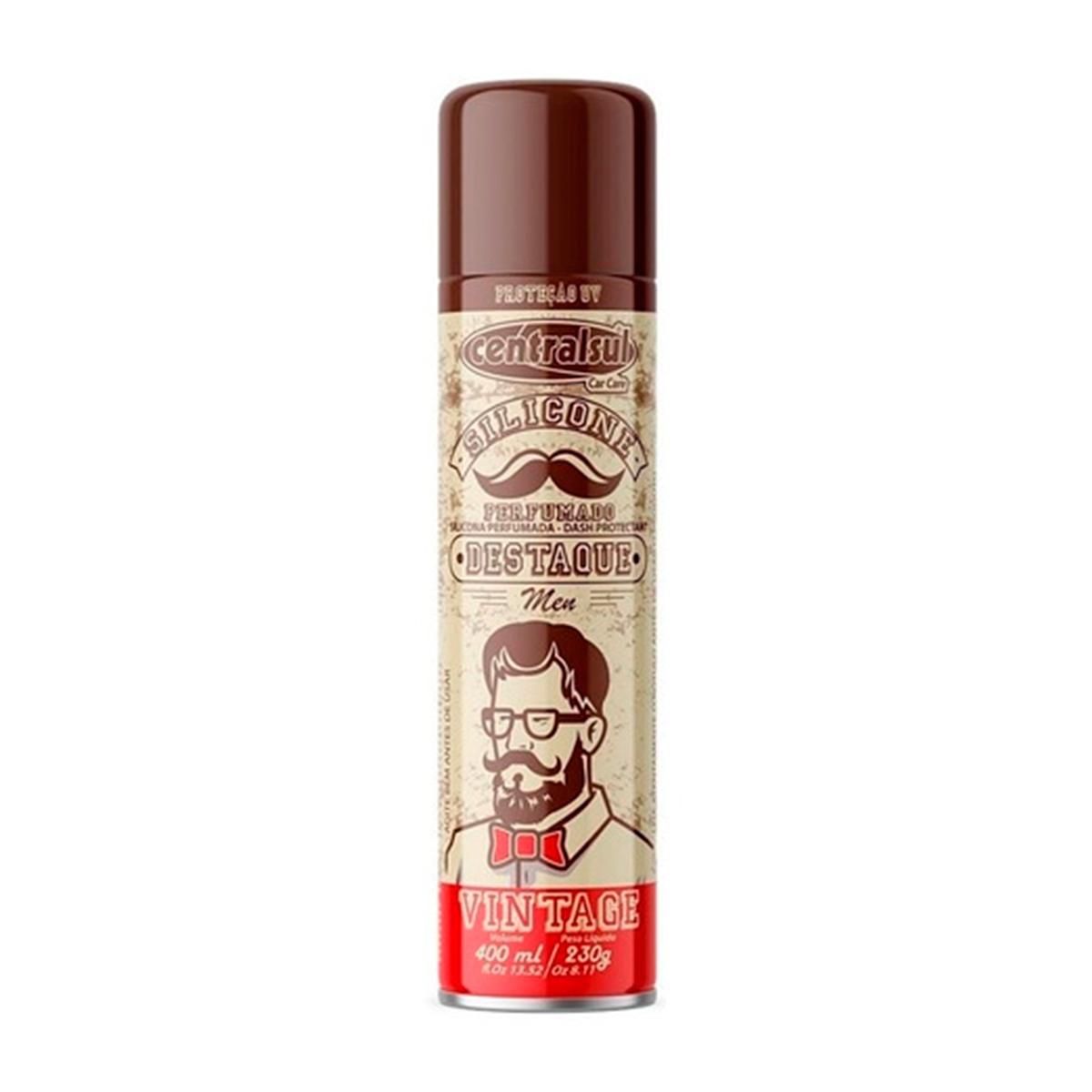 Silicone Perfumado Aerossol Men Vintage 400ml - Centralsul