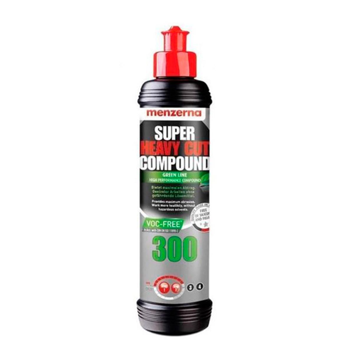 Super Heavy Cut Compound 300 - Green Line 250ml - Menzerna