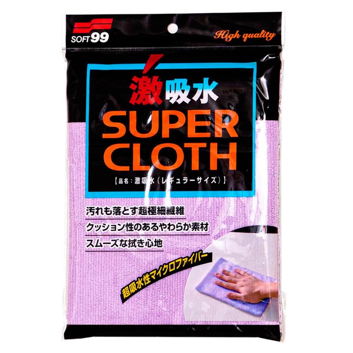 Toalha Automotiva Super Cloth Microfibra de Alta Absorção - Soft99