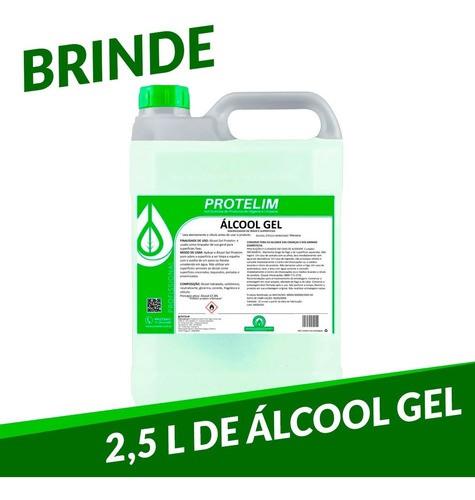 Totem De Álcool Gel Em Aço E Alumínio Luxo + Brinde