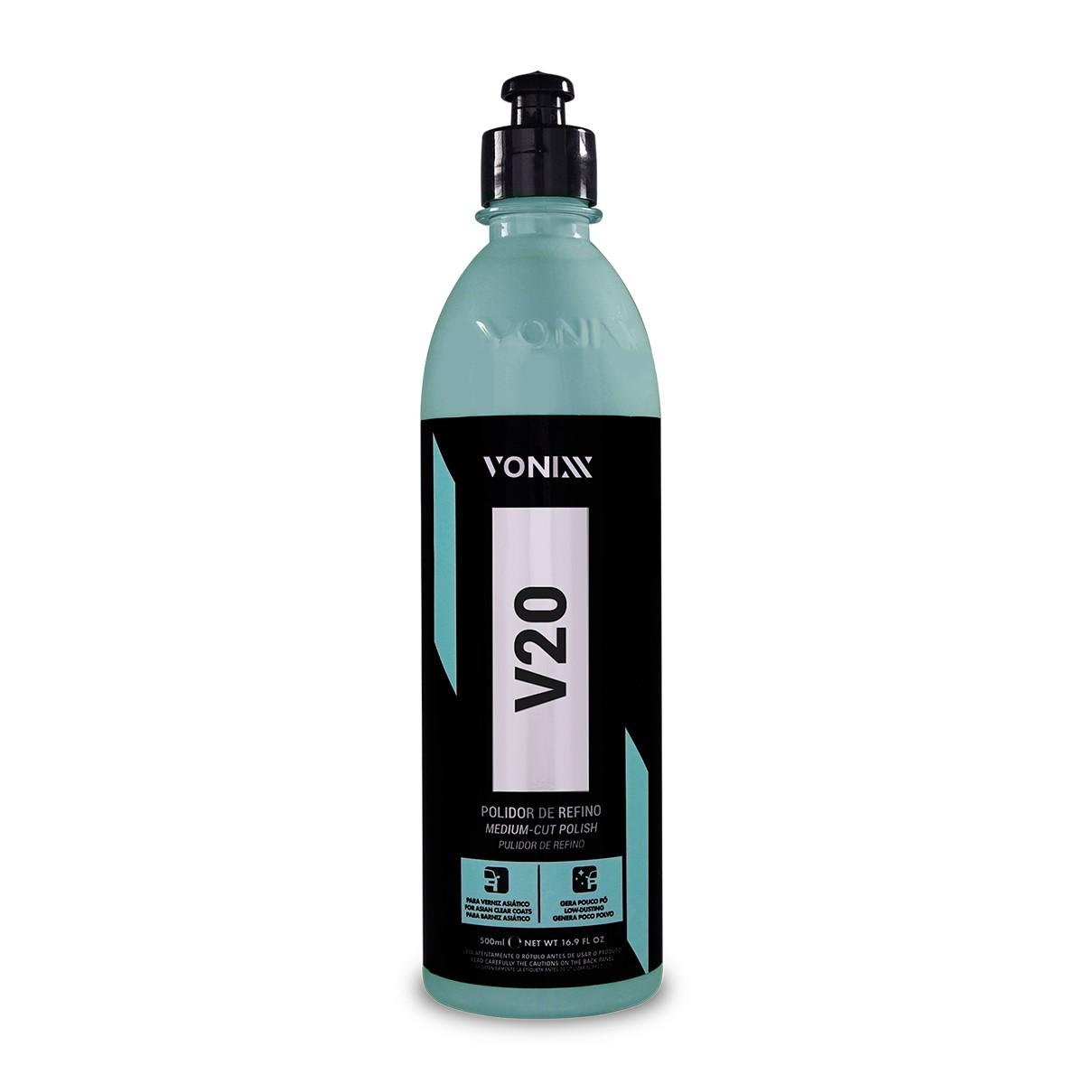 V20 Composto Polidor Refino 500ml - Vonixx