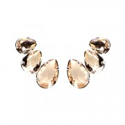 EAR CUFF GOTAS PEACH GRAFITE