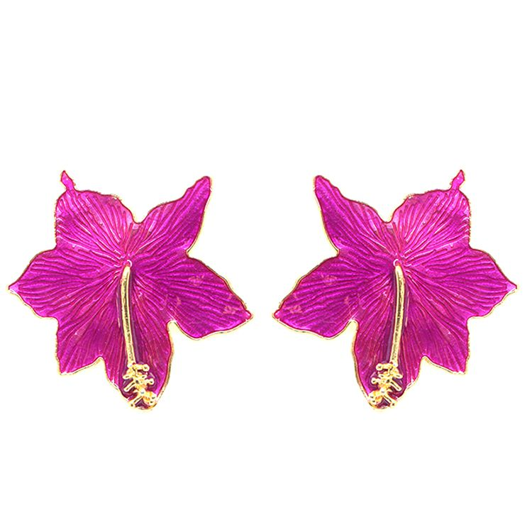 BRINCO HIBISCOS PURPLE GOLD