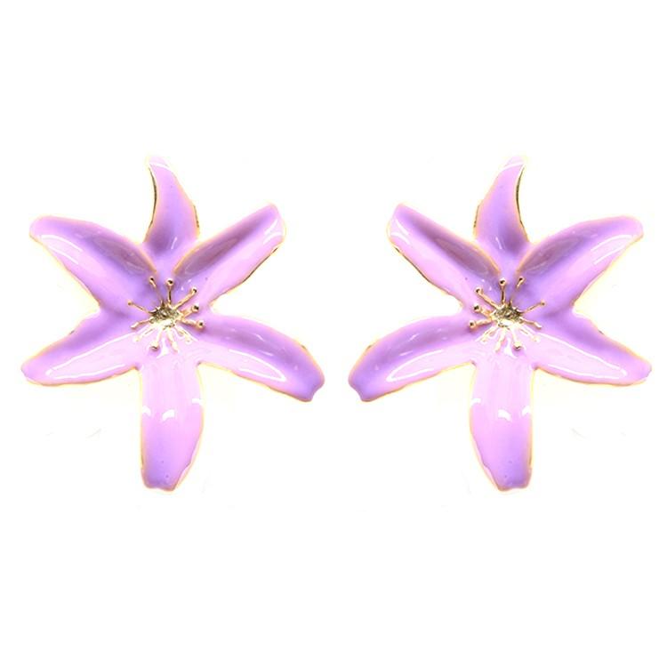 Brinco Jasmine Lavender