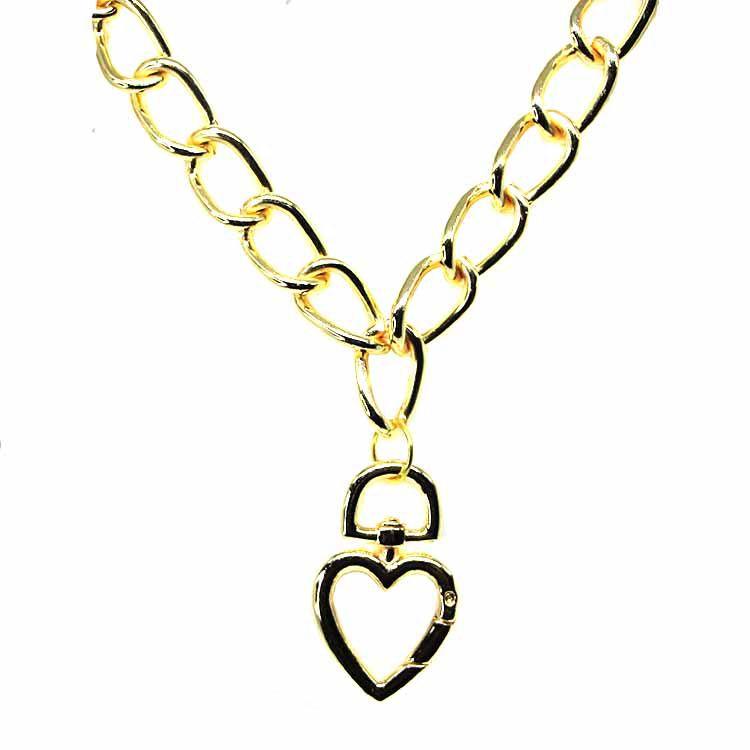 COLAR CORRENTARIA LOVE GOLD