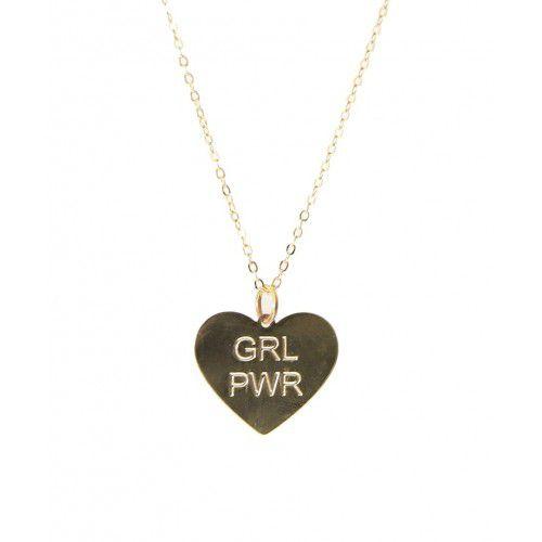 COLAR GRL PWR GOLD