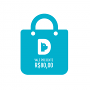 Vale Presente Gift Card Valor R$ 80,00