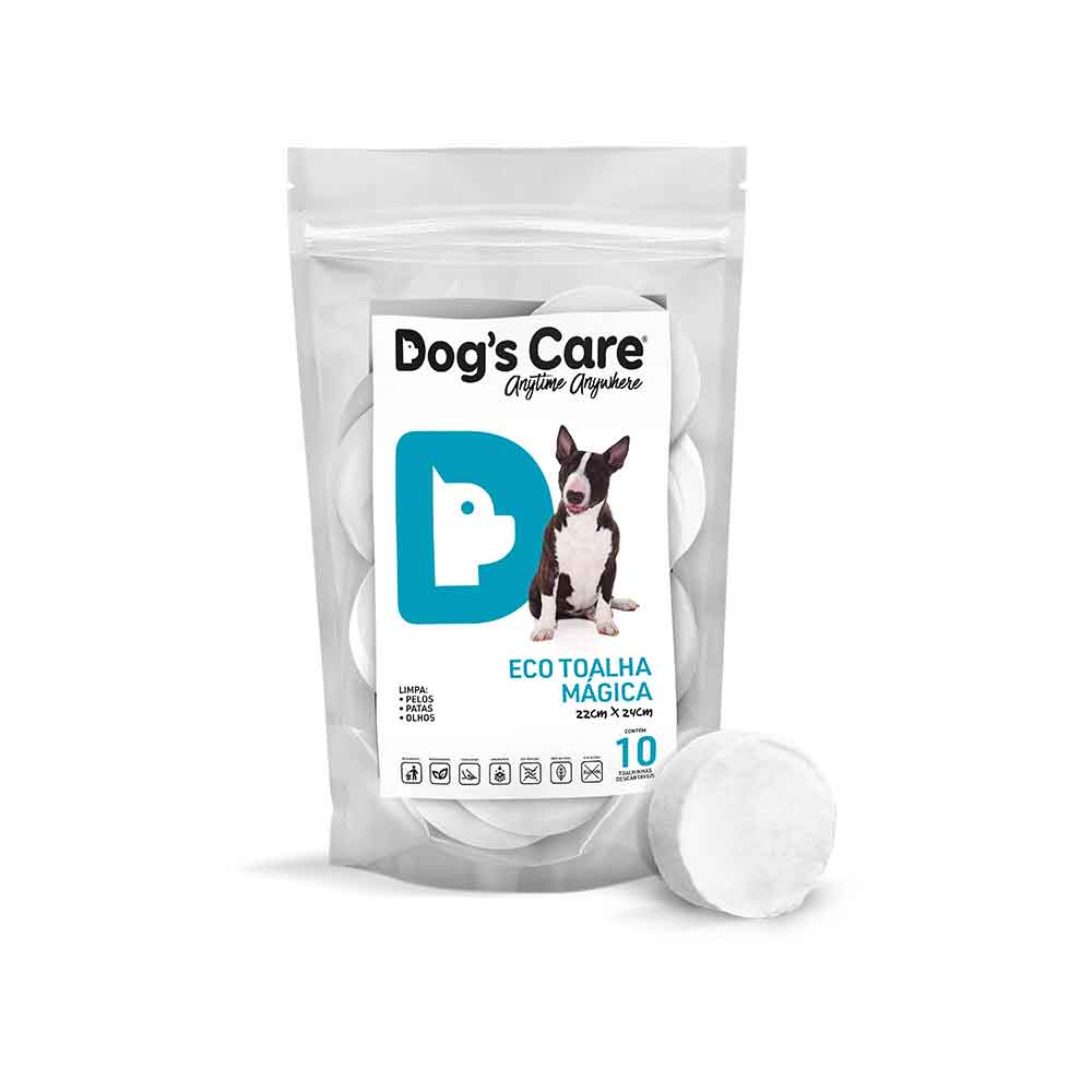 🤩 KIT 03 Eco Toalha Mágica Dog's Care