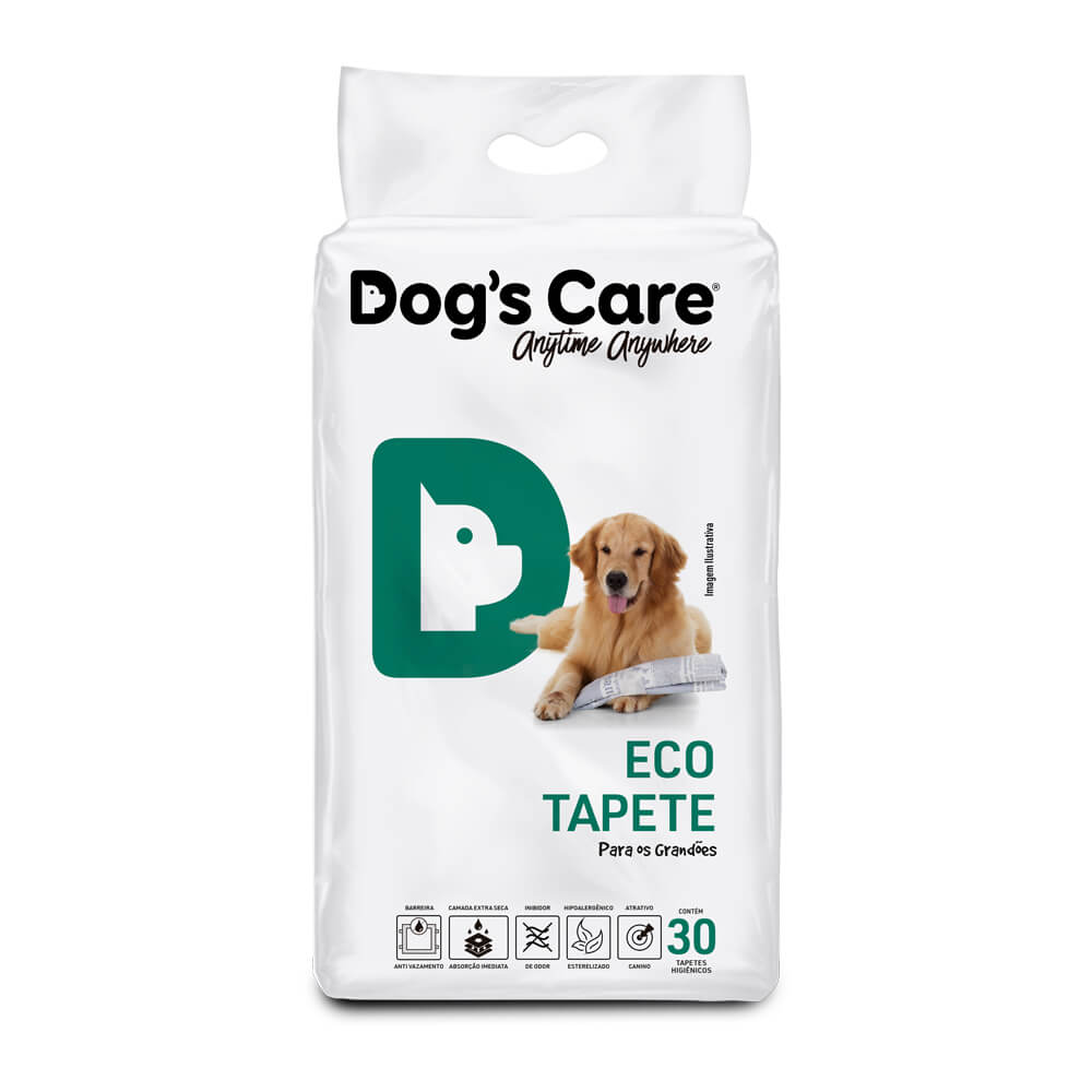 Eco Tapete Higiênico Grande Porte Dog's Care