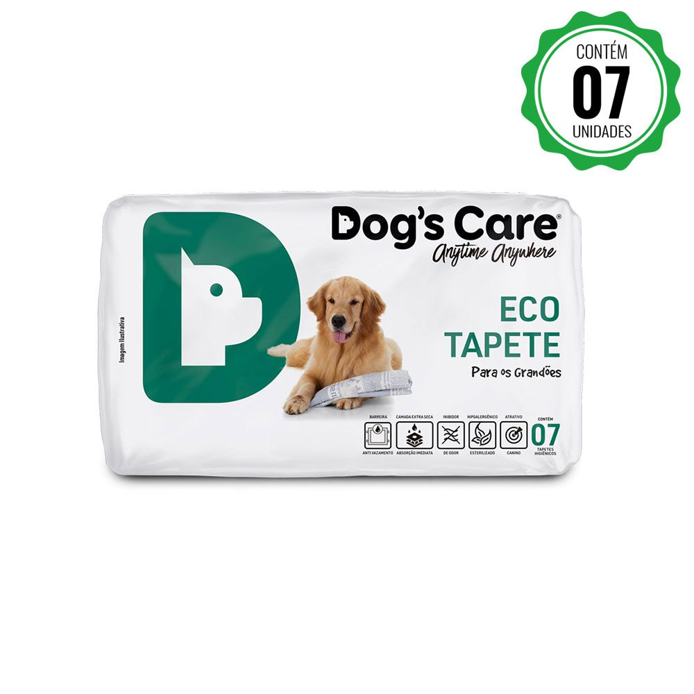 Eco Tapete Higiênico Grande Porte Dog'...
