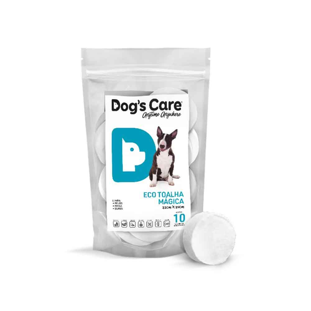 🤩 Eco Toalha Mágica Dog's Care