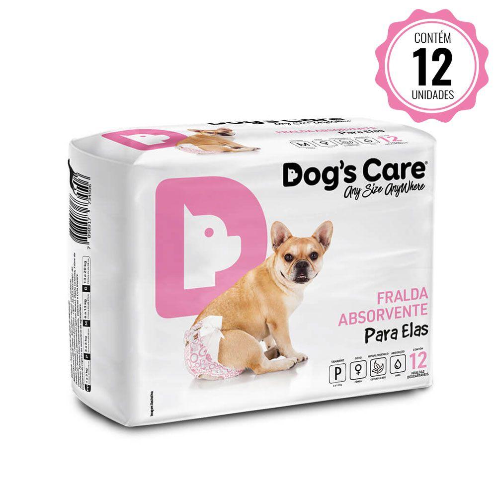 Fralda para cães Fêmea Dog's Care - P...