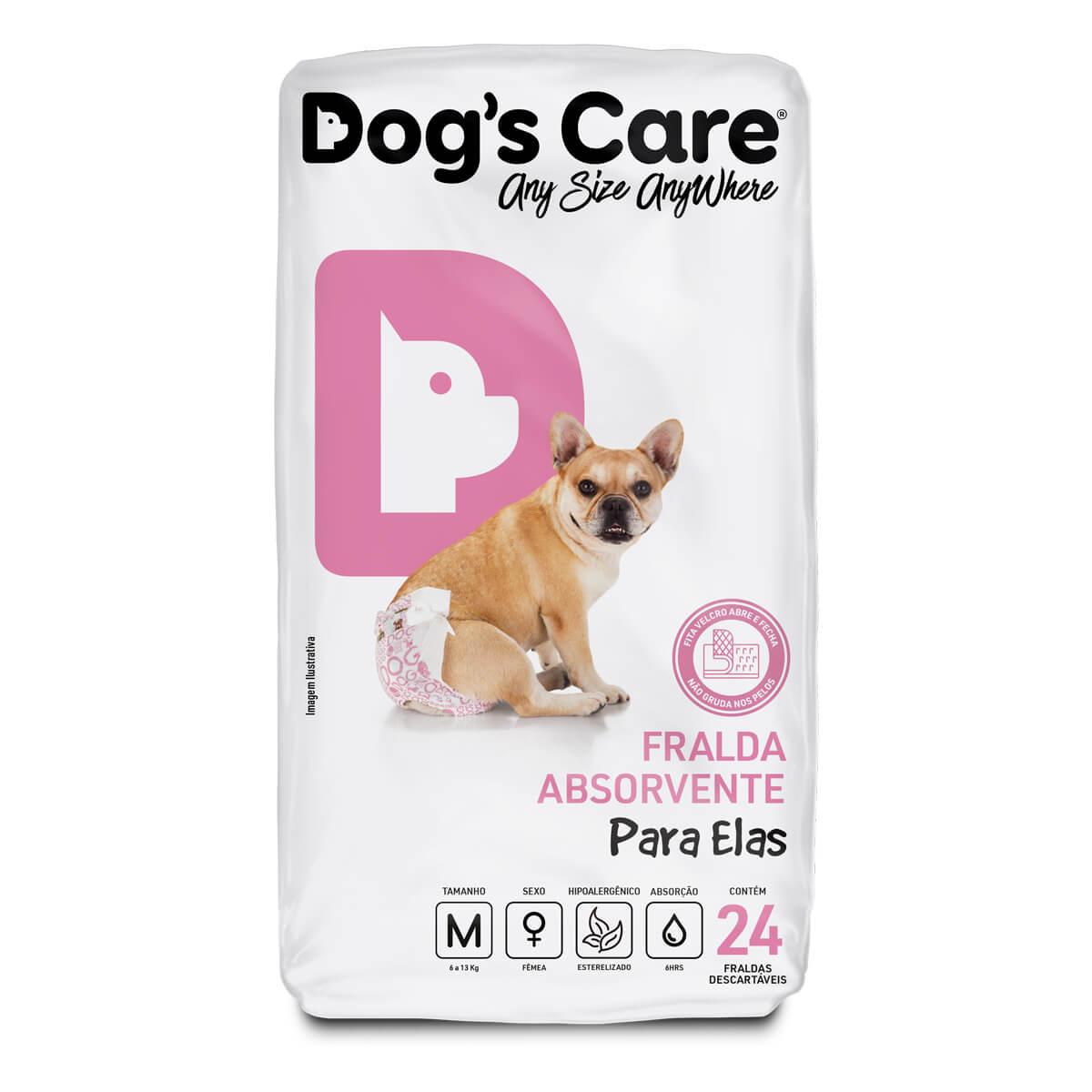 Fralda para cães Fêmea Dog's Care - M...