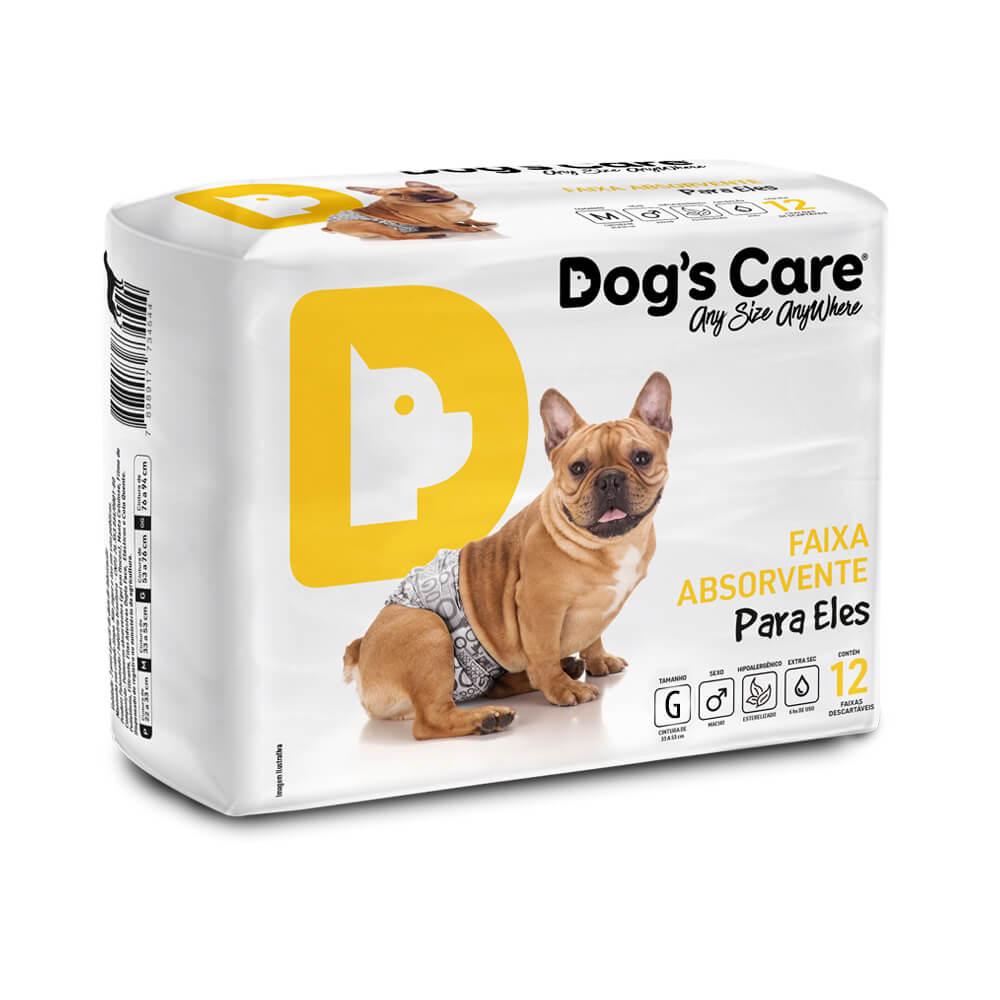 Fralda Faixa Higiênica para cães Macho...