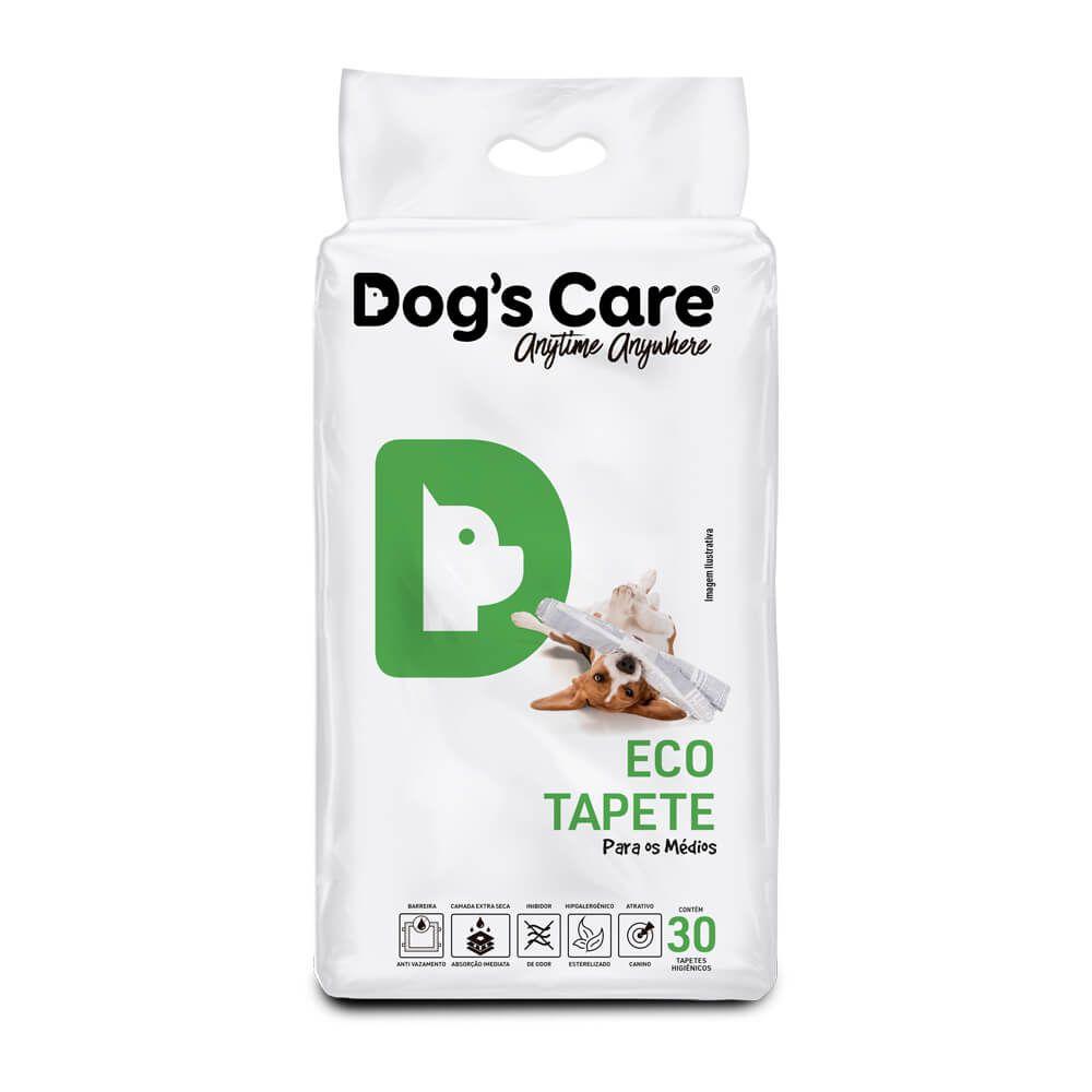 Kit 02 Eco Tapete Higiênico Médio Porte Dog's Care