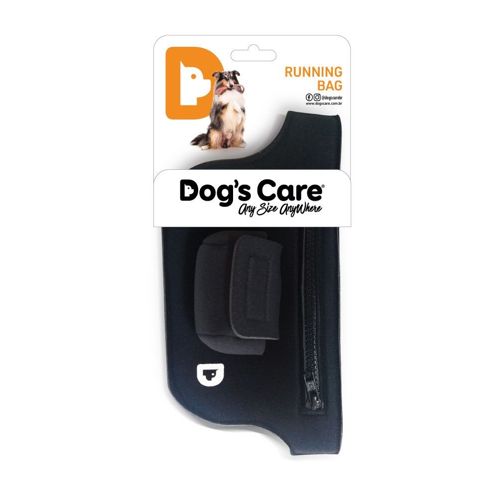 Running Bag Pochete em Neoprene Dog's Care