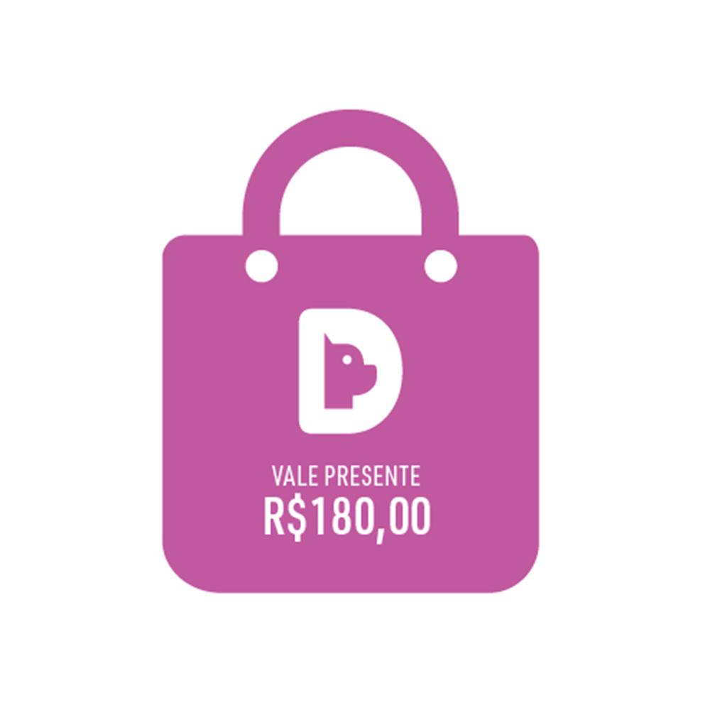 Vale Presente Gift Card Valor R$ 180,00