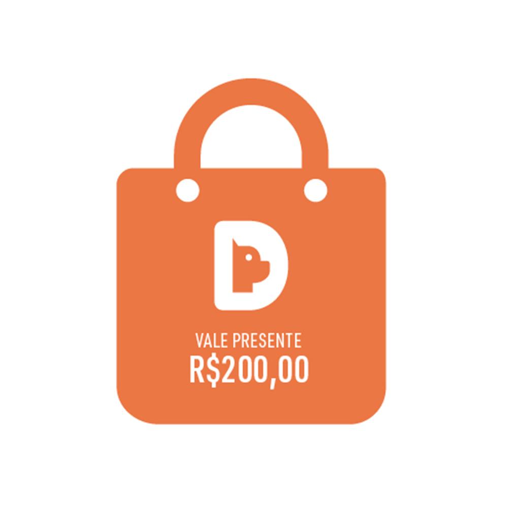 Vale Presente Gift Card Valor R$ 200,00
