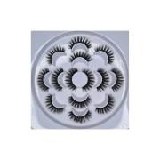 Caixa de cílios postiços estilo mink com 07 pares