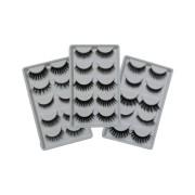 Caixa de cílios postiços estilo mink mista