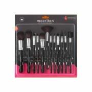 Kit 12 pinceis para maquiagem KP9-1A Macrilan