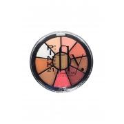 Paleta de sombras flay cor 1 Pink 21 Cosmetics