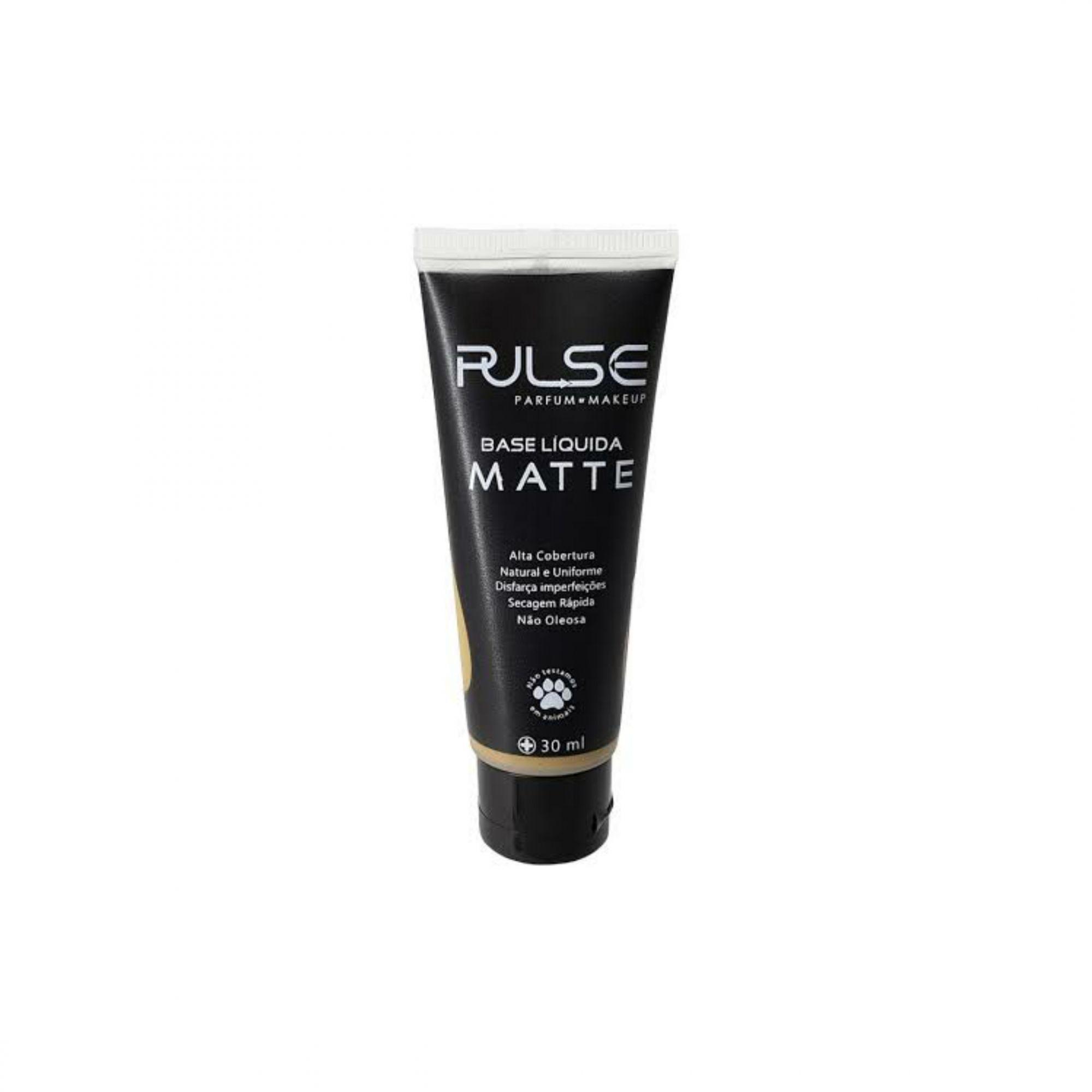 Base liquida matte Pulse