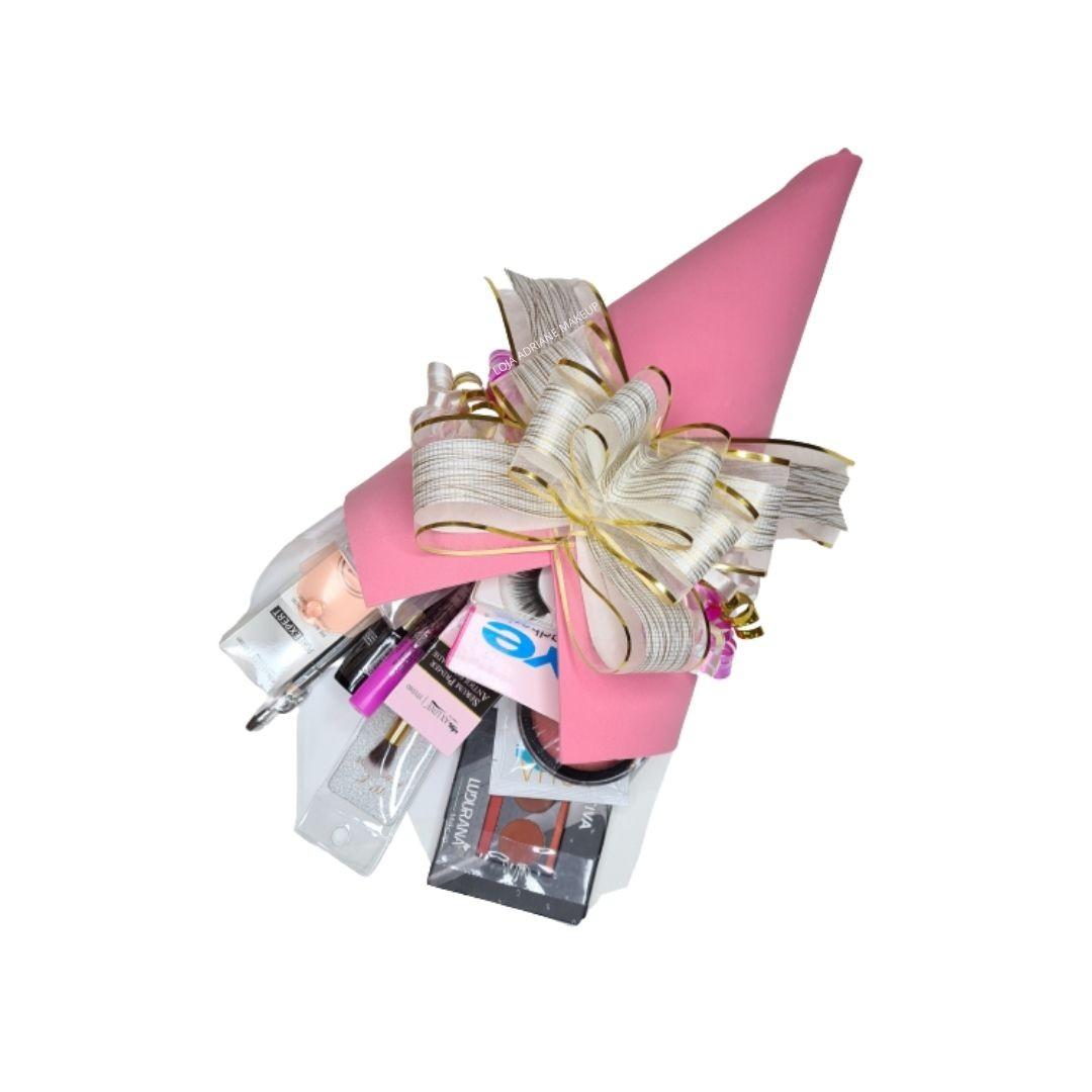 Buquê de maquiagem n. 03 com 14 itens